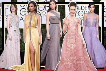 Best Dressed Golden Globes 2017