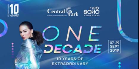 ONE DECADE 10 Years of Extraordinary