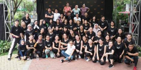 Serunya Strong by Zumba bersama 361 Degrees!