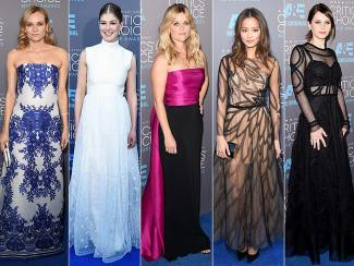 CRITICS' CHOICE MOVIE AWARDS 2015 BEST DRESSED (Part I)