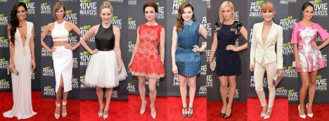 Best Dressed At MTV Movie Awards 2013