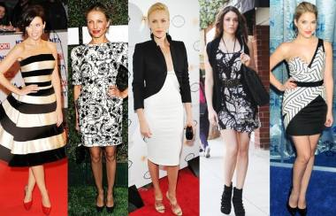 Celebrity Rocks Monochrome