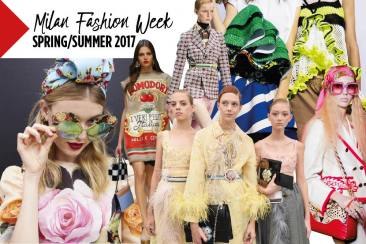 Milan Fashion Week Spring/Summer 2017 Highlights