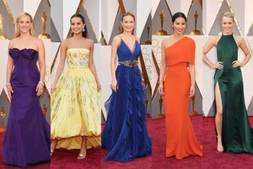 Burst of Colors at Oscars 2016