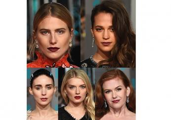 Dark Lips Beauty at BAFTA Awards 2016