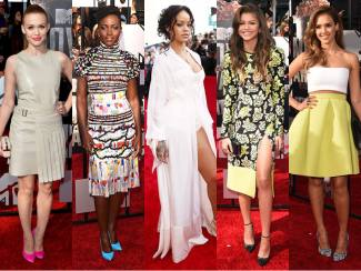 Best Dressed Celebrity at the 2014 MTV Movie Awards