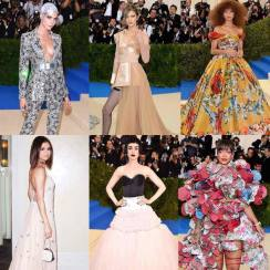 Best Dressed Celebrity at Met Gala 2017