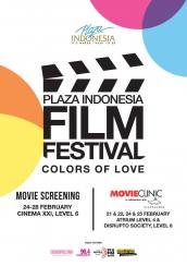 Plaza Indonesia - Film Festival Indonesia Colors of Love