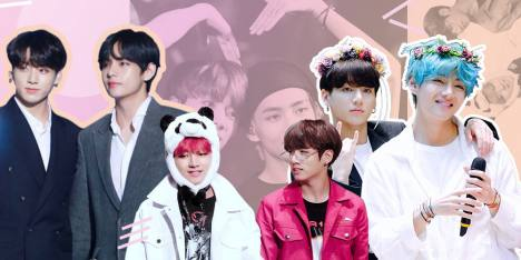 Visual Attack! 7 Potret Cute Brotherhood V & Jungkook BTS!
