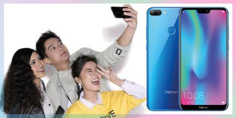 See Beauty All Around with Honor 9i Smartphone
