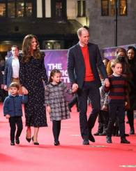 Awww, Ini Foto Red Carpet Pertama George, Charlotte & Louis