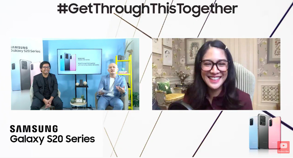 Samsung Gelar Workshop Online #GetThroughThisTogether