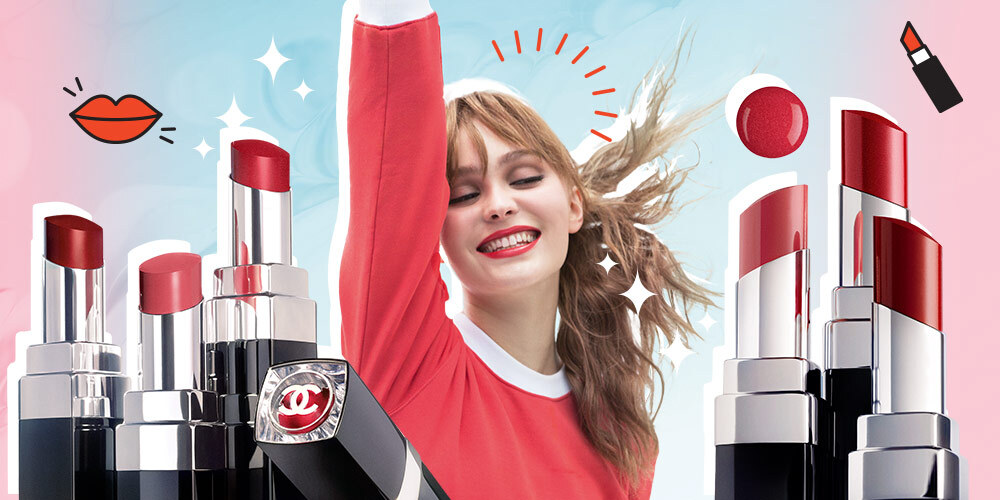 Chanel Rilis Lipstik Rouge Coco Bloom Yang Dibintangi Lily-Rose Deep