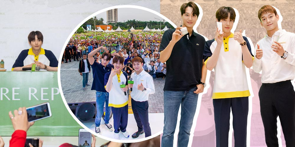 Serunya Event Nature Republic Indonesia Bersama EXO!